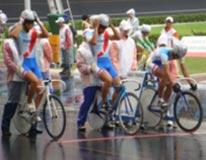 自転車競技 成年少年男子 茨城選抜  (チームスプリント)