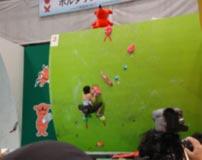 山岳競技 少年女子 沼田ほあし選手 (団体 リード第3位 ボルダ第4位)