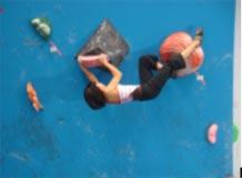 山岳競技 少年女子 沼尻千璃選手 (団体 リード第3位 ボルダ第4位)