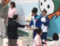 水泳競技 少年女子B 平山 友貴菜選手 (100mバタフライ 第3位)