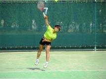 テニス競技 少年女子 古川 鈴夏選手