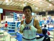 ボクシング競技 成年男子 藤田 孝洋選手 (ウェルター級 優勝)
