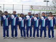 ソフトテニス競技 成年男子 茨城選抜 (団体 第6位 )