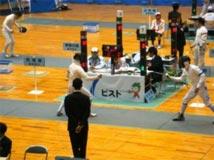 フェンシング競技  成年男子 茨城選抜
