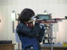 ライフル射撃競技 成年女子  田邊 美奈子選手