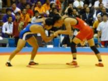 レスリング競技 成年男子 高塚選手 (フリースタイル60kg級 優勝)