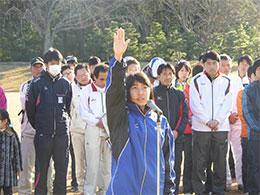選手宣誓,水戸市代表白田選手