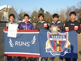 クラブ対抗の部 優勝 RUNS