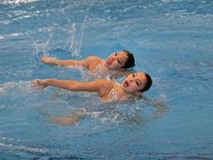 水泳競技(シンクロ)少年女子