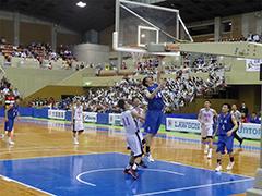 バスケットボール競技少年男子(青)