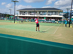 ソフトテニス競技少年男子