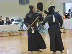 銃剣道競技成年男子