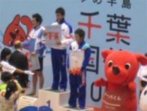 水泳競技 成年男子 日原将吾選手 (400m自由形 第3位)