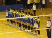 バレーボール競技 少年女子 茨城選抜 (団体 第5位)