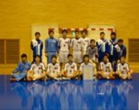 ハンドボール競技 成年男子 茨城選抜 (団体 第5位)