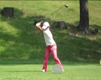 ゴルフ競技 女子 井上莉花選手