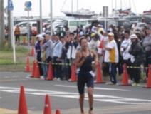 トライアスロン競技 成年女子 松丸浩巳選手