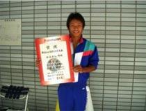 水泳競技 少年男子 青木 友輔選手 (飛板飛込・高飛込 第3位)