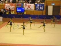 新体操競技 少年女子 茨城選抜