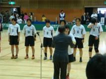 ハンドボール競技 成年女子 茨城選抜 (団体 第5位 )