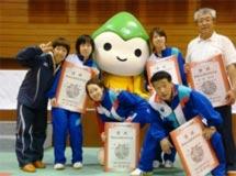 卓球競技 成年女子 茨城選抜 (団体 優勝 )