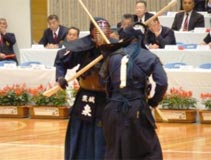 銃剣道競技 成年男子 茨城選抜