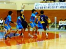 ハンドボール競技 少年男子(紺黄)