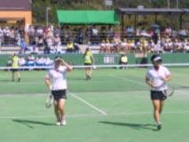 ソフトテニス競技  成年女子