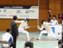 フェンシング競技 成年男子
