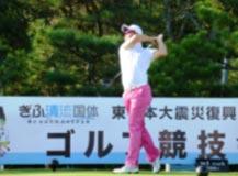 ゴルフ競技 成年男子  小袋・佐藤・竹安選手 (第5位)