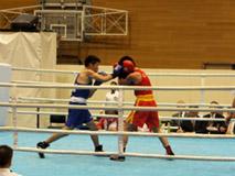ボクシング競技 成年男子(青)