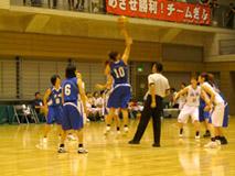 バスケットボール競技 成年女子(青)