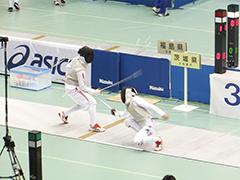 フェンシング競技少年男子