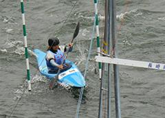 カヌー競技成年女子